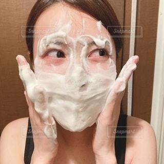 洗顔の写真・画像素材[2663673]
