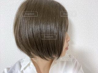 2020年9月 髪の写真・画像素材[3717453]