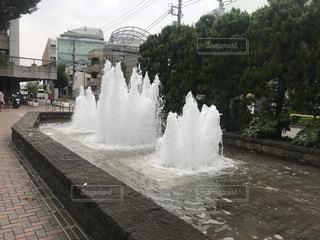 世田谷の噴水の写真・画像素材[2369481]