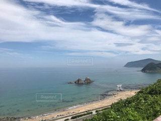 日本海を眺めるの写真・画像素材[2369482]