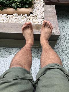 足湯の写真・画像素材[2379175]