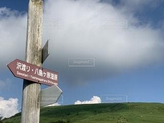 夏高原の写真・画像素材[2374459]