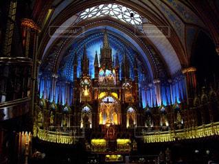 モントリオールにある大聖堂の写真・画像素材[2375925]