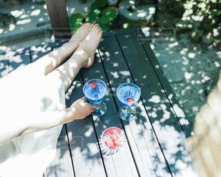 真夏のソーダの写真・画像素材[2377735]