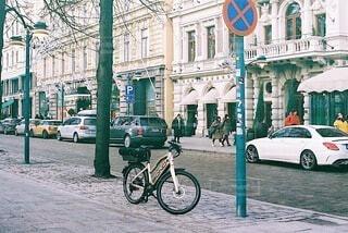 自転車の写真・画像素材[3771233]