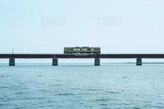 由良川橋梁の列車の写真・画像素材[2962200]