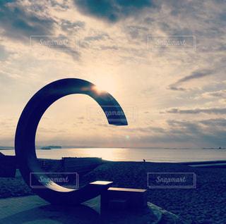 サザンビーチモニュメントの写真・画像素材[2382504]