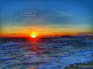 Shonan sunsetの写真・画像素材[2384145]
