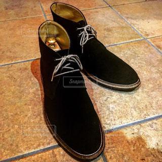 黒い靴の写真・画像素材[2385299]