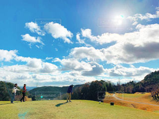 休日ゴルフの写真・画像素材[2387697]