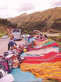 Colorful street in Peruの写真・画像素材[2392702]