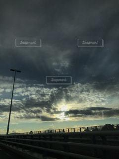 雲間の写真・画像素材[2394677]