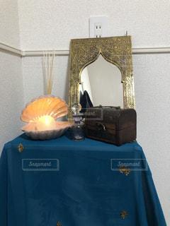 部屋の一角の写真・画像素材[2720810]