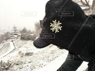 雪道の写真・画像素材[2641249]