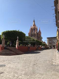 サンミゲルアジェンデの教会の写真・画像素材[2388294]