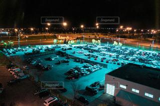 エドモントンの夜の写真・画像素材[2391341]