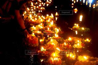 チェンマイの夜の写真・画像素材[2391529]