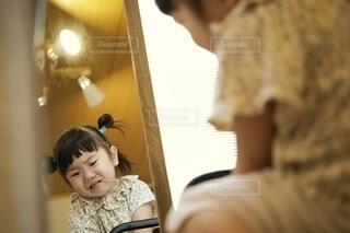 機嫌が悪い女の子。の写真・画像素材[3615771]