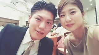 結婚式参列者の写真・画像素材[3672169]
