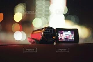 ビデオカメラでドラレコ。の写真・画像素材[3683083]
