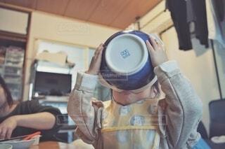 スープも残さない。の写真・画像素材[4041818]