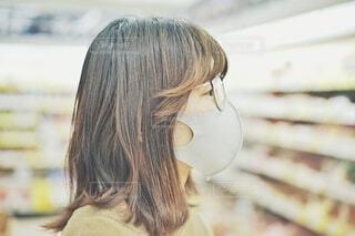マスクをした女性の写真・画像素材[4353853]