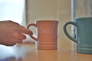 マグカップのクローズアップの写真・画像素材[4386675]