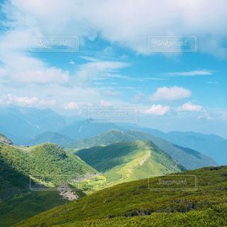 山からの景色の写真・画像素材[2390353]