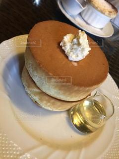 フワフワのパンケーキの写真・画像素材[2390531]
