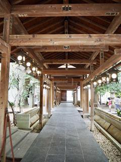 神社の道の写真・画像素材[2767389]