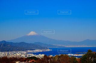 日本平からみた富士山の写真・画像素材[2800855]