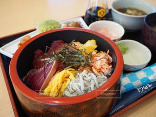 日本平の海鮮丼の写真・画像素材[2800853]