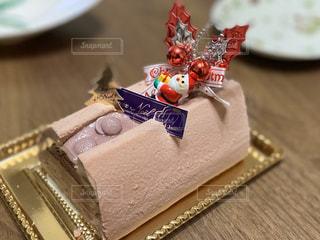 クリスマスケーキの写真・画像素材[2822684]