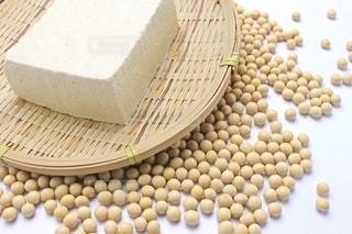 大豆と豆腐の写真・画像素材[2393015]