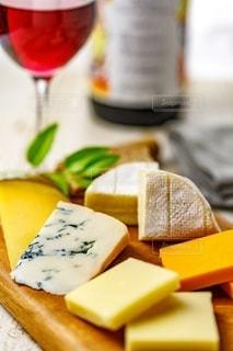 チーズ盛り合わせの写真・画像素材[2491718]