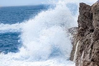 波しぶきの写真・画像素材[2707493]