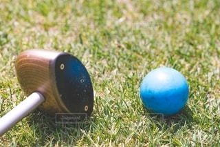 パークゴルフの写真・画像素材[2720889]