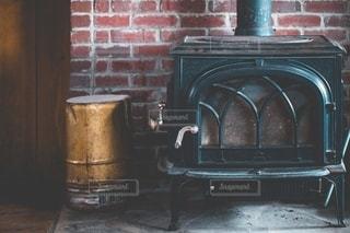 暖炉の写真・画像素材[2720888]