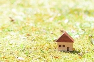 家と自然の写真・画像素材[3225593]