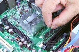 パソコン修理の写真・画像素材[3437437]