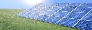 ソーラーパネルの写真・画像素材[3666385]