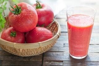 トマトジュースの写真・画像素材[3800634]