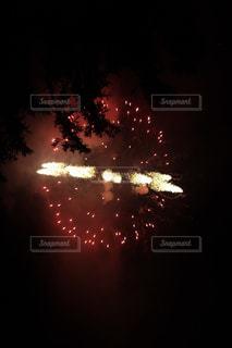 夜空の花火の写真・画像素材[2407027]