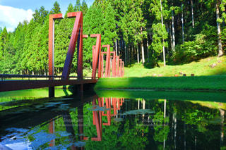 逆さ橋の写真・画像素材[2425942]