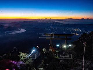 富士山 頂上手前の写真・画像素材[2395329]