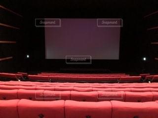誰もいない映画館の写真・画像素材[2445881]