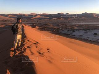 ナミブ砂漠の写真・画像素材[2395675]