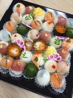 手まり寿司の写真・画像素材[2397075]
