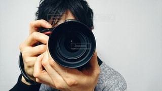 カメラマン 男性の写真・画像素材[2398035]