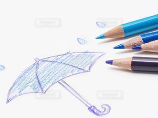 色鉛筆の梅雨の写真・画像素材[2991404]
